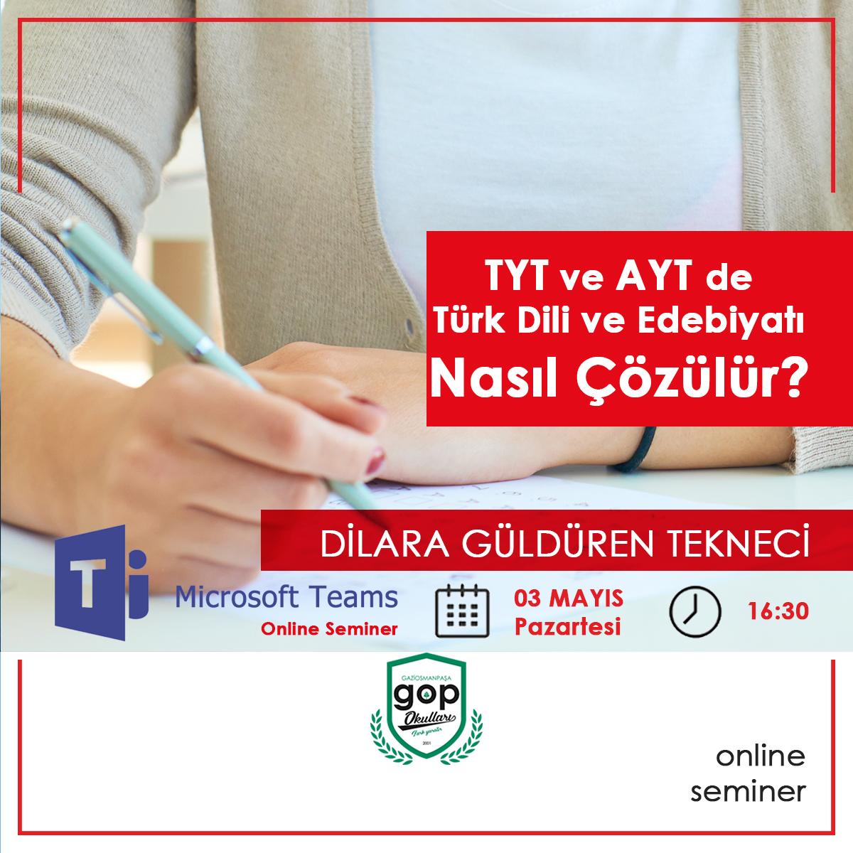 TYT ve AYT' de Türk Dili ve Edebiyatı nasıl çözülür?