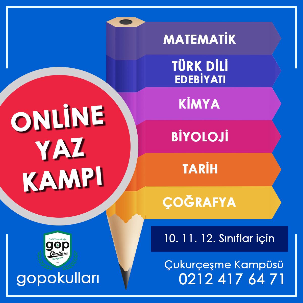 Online Yaz Kampı
